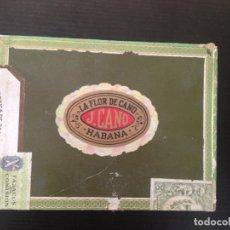 Cajas de Puros: LA FLOR DE CANO HABANA. Lote 130908144