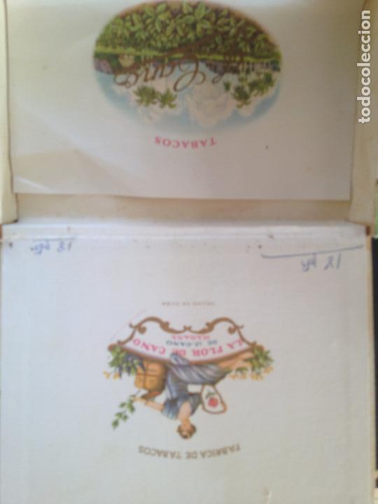 Cajas de Puros: LA FLOR DE CANO HABANA - Foto 2 - 130908144
