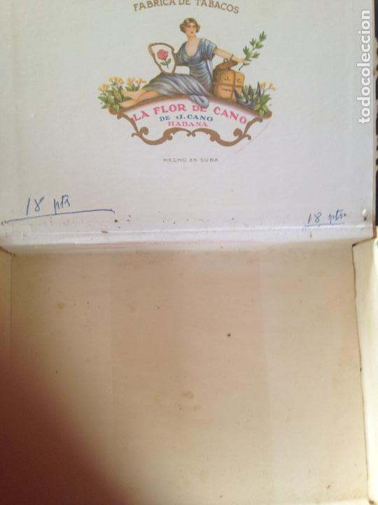 Cajas de Puros: LA FLOR DE CANO HABANA - Foto 3 - 130908144