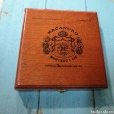 Cajas de Puros: ANTIGUA CAJA DE PUROS MACANUDO (MONTEGA & CIA) JAMAICA. Lote 131086371