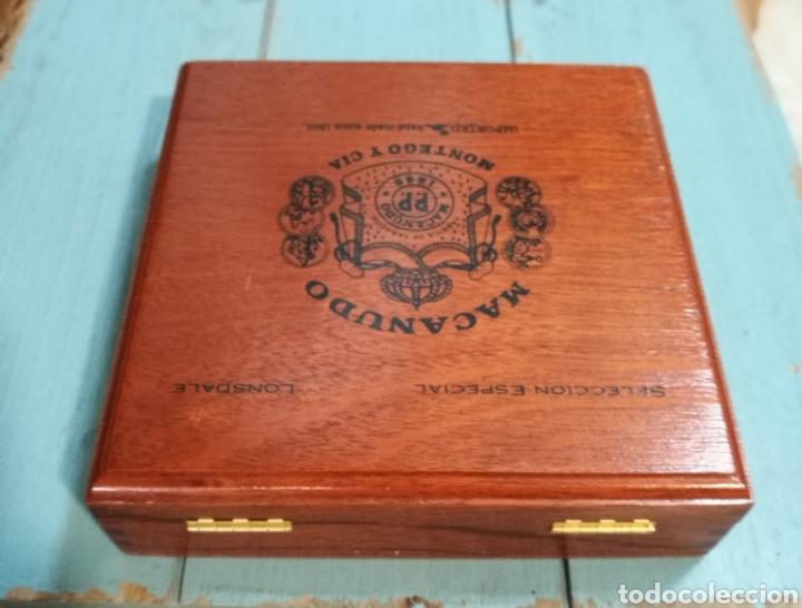 Cajas de Puros: Antigua Caja de puros Macanudo (Montega & Cia) Jamaica - Foto 2 - 131086371