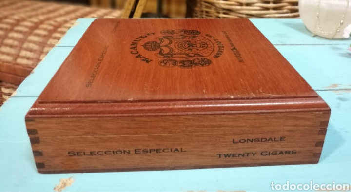 Cajas de Puros: Antigua Caja de puros Macanudo (Montega & Cia) Jamaica - Foto 4 - 131086371