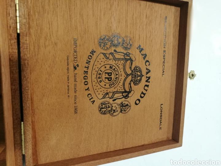 Cajas de Puros: Antigua Caja de puros Macanudo (Montega & Cia) Jamaica - Foto 8 - 131086371