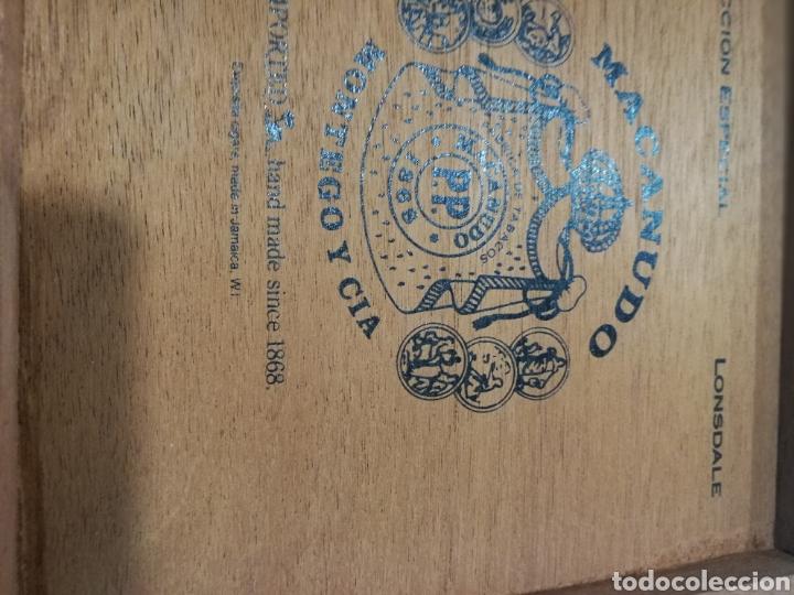 Cajas de Puros: Antigua Caja de puros Macanudo (Montega & Cia) Jamaica - Foto 9 - 131086371