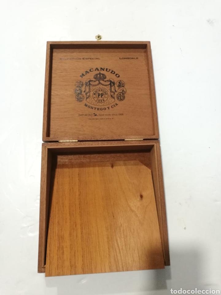 Cajas de Puros: Antigua Caja de puros Macanudo (Montega & Cia) Jamaica - Foto 10 - 131086371