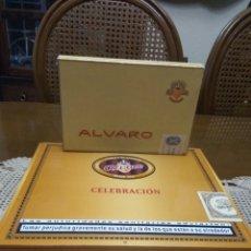 Cajas de Puros: PUROS ÁLVARO CELEBRACIÓN Y RANGER LOTE DE DOS CAJAS. Lote 131588926