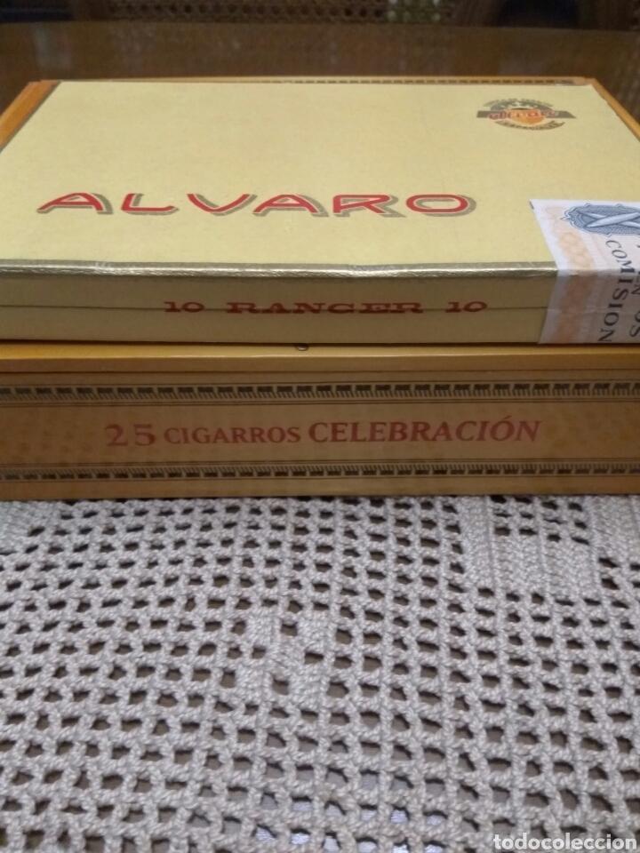 Cajas de Puros: PUROS ÁLVARO CELEBRACIÓN Y RANGER LOTE DE DOS CAJAS - Foto 2 - 131588926