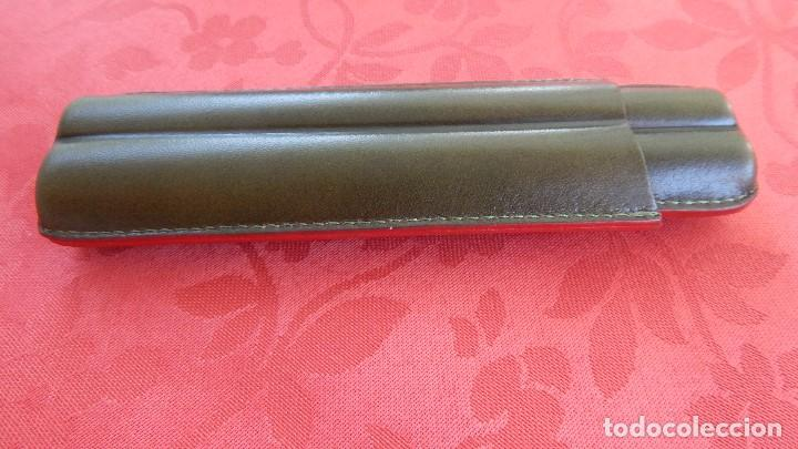 Cajas de Puros: Purera de piel verde - Foto 3 - 131858638
