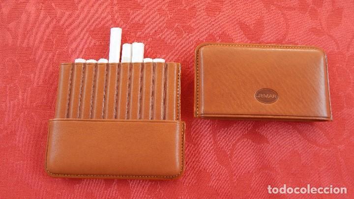 Cajas de Puros: Purera de piel para cigarritos - Foto 2 - 131859394