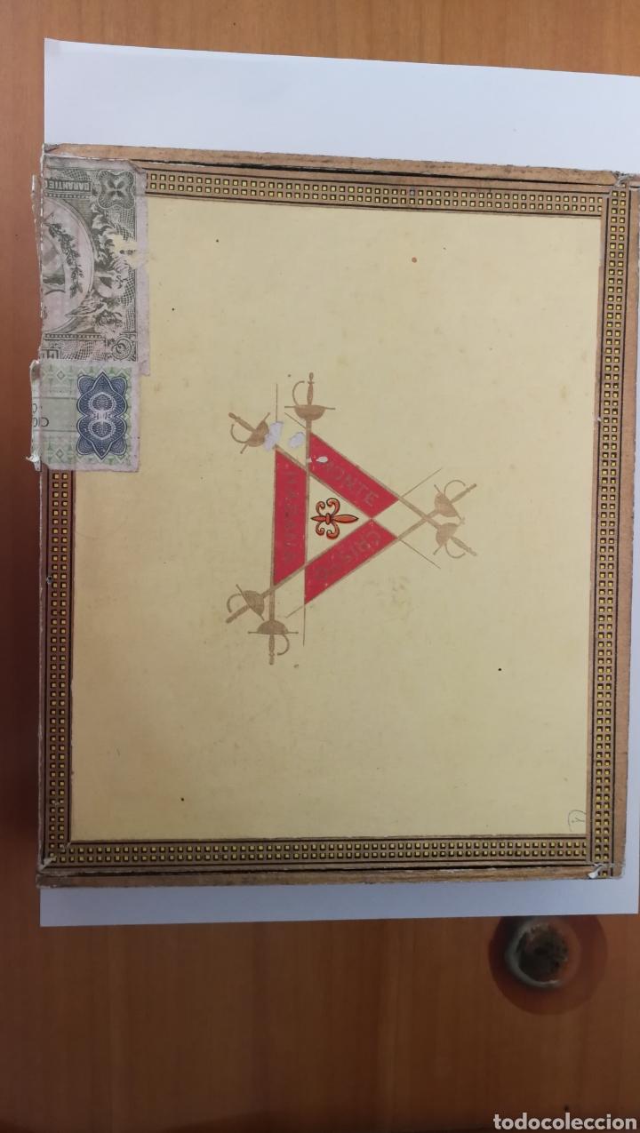 CAJA DE PUROS MONTECRISTO (Coleccionismo - Objetos para Fumar - Cajas de Puros)