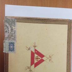Cajas de Puros: CAJA DE PUROS MONTECRISTO. Lote 132014735