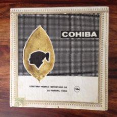 Cajas de Puros: CAJA DE PUROS HABANOS COHIBA COMPLETA Y PRECINTADA LANCEROS. Lote 132834975