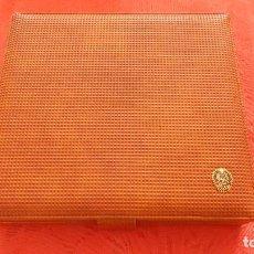 Cajas de Puros: HUMIDOR DE VIAJE DE PIEL MARRÓN. Lote 132308262