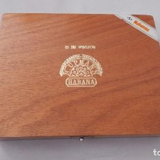 Cajas de Puros: CAJA VACÍA DE PUROS H. UPMAN 25 SIR WINSTON. Lote 132710842