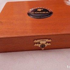 Cajas de Puros: CAJA VACÍA DE PUROS COHIBA PANETELAS 40 ANIVERSARIO. Lote 132711954