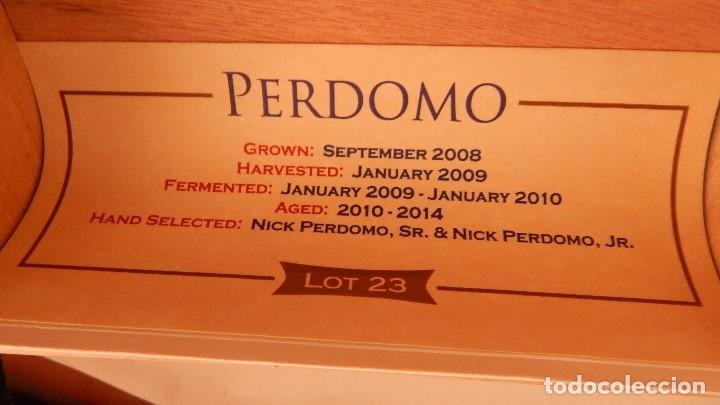 Cajas de Puros: Caja vacía de puros Perdomo lote 23 - Foto 2 - 132712638