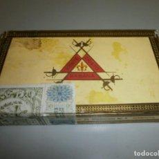 Cajas de Puros: ANTIGUA CAJA DE PUROS HABANOS MONTECRISTO CAJA VACIA. Lote 132906058