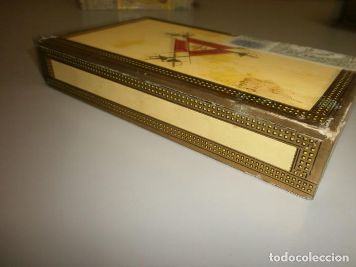Cajas de Puros: antigua caja de puros habanos montecristo caja vacia - Foto 4 - 132906058