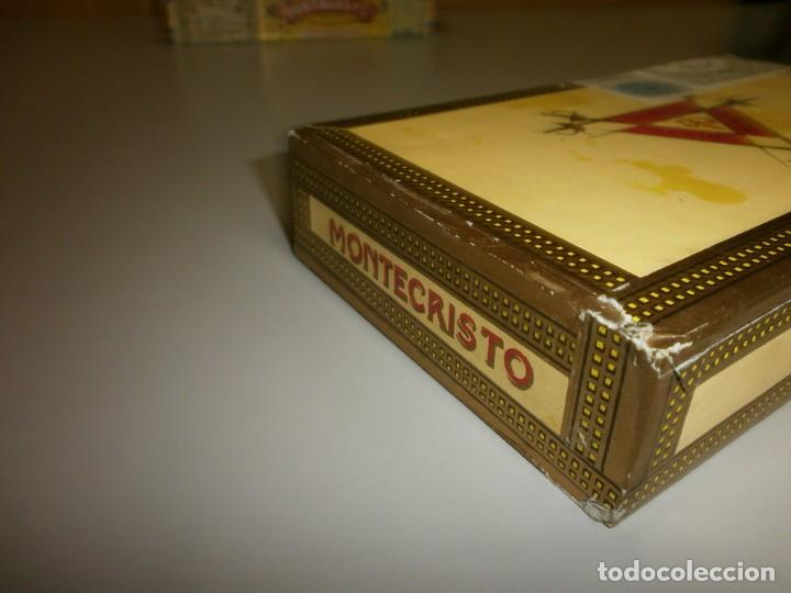 Cajas de Puros: antigua caja de puros habanos montecristo caja vacia - Foto 5 - 132906058