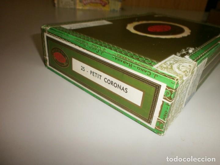 Cajas de Puros: antigua caja de puros habanos la flor del cano 25 petit coronas caja vacia - Foto 3 - 132906362