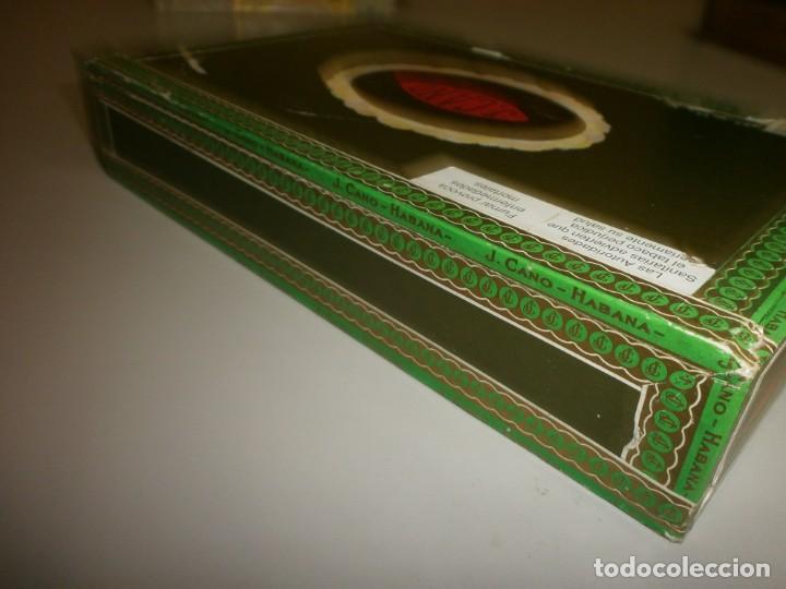 Cajas de Puros: antigua caja de puros habanos la flor del cano 25 petit coronas caja vacia - Foto 4 - 132906362