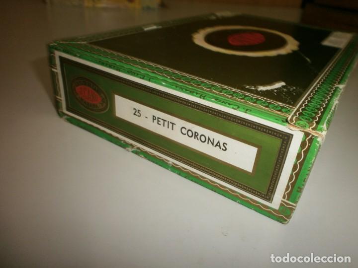 Cajas de Puros: antigua caja de puros habanos la flor del cano 25 petit coronas caja vacia - Foto 5 - 132906362