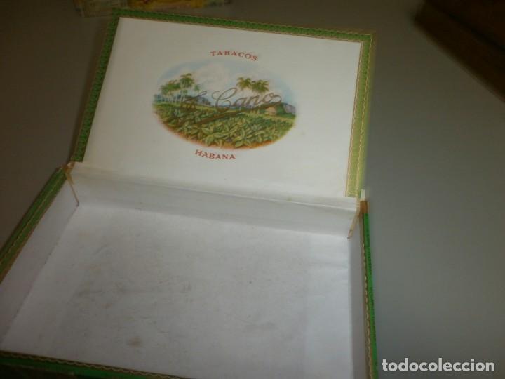 Cajas de Puros: antigua caja de puros habanos la flor del cano 25 petit coronas caja vacia - Foto 6 - 132906362