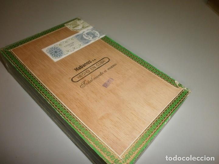 Cajas de Puros: antigua caja de puros habanos la flor del cano 25 petit coronas caja vacia - Foto 7 - 132906362