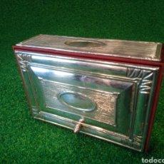 Cajas de Puros: PLATA DE 1A LEY - CIGARRERA HIOR. Lote 133450558