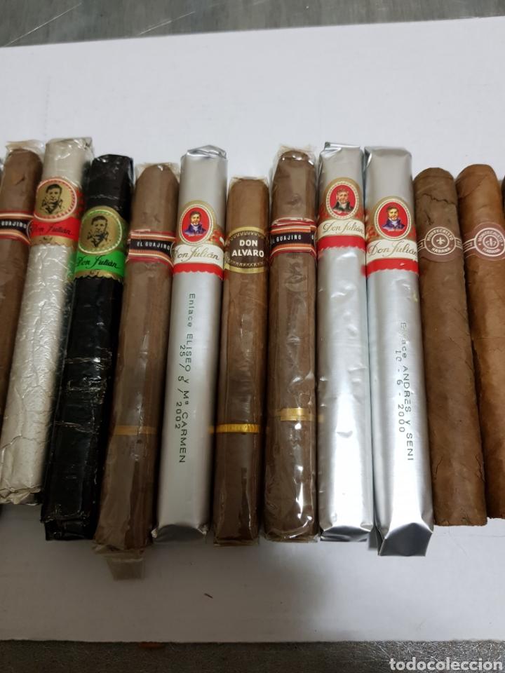 Cajas de Puros: Lote 20 puros antiguos algunos habanos - Foto 3 - 133771085