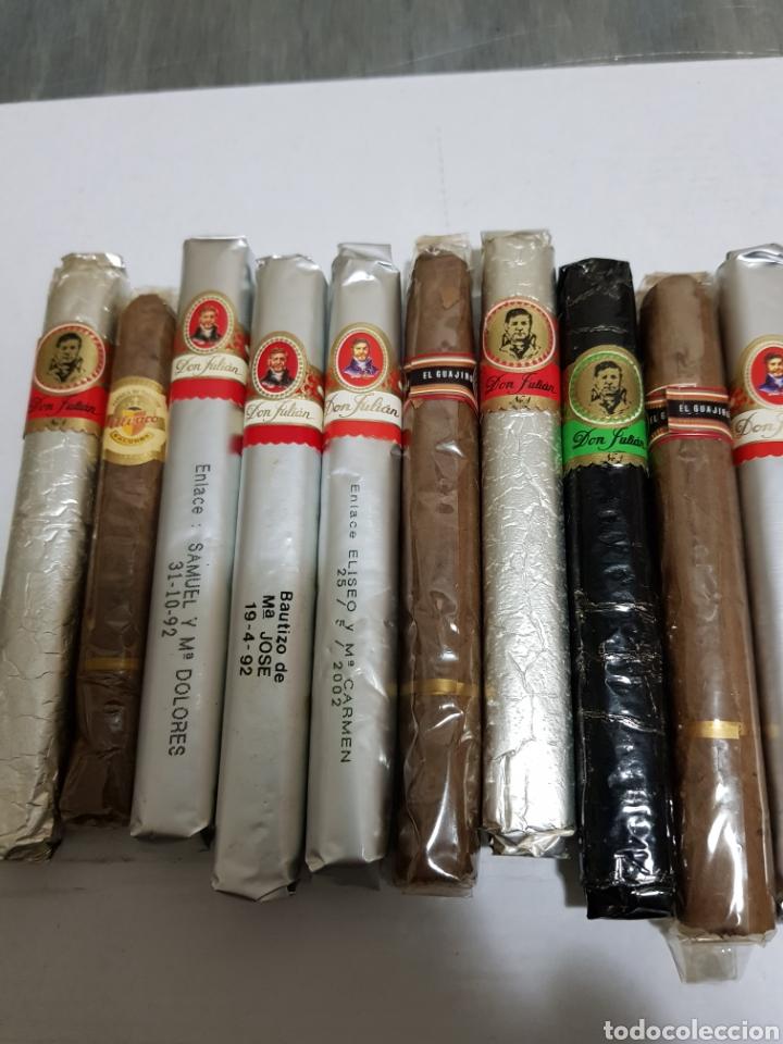 Cajas de Puros: Lote 20 puros antiguos algunos habanos - Foto 4 - 133771085