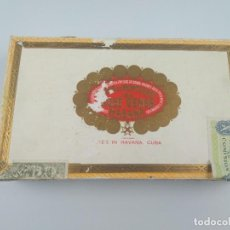 Cajas de Puros: HOYO DE MONTERREY JOSE GENER CAJA DE PUROS CUBA. Lote 135121798
