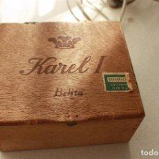Cajas de Puros: CAJA KAREL I SEGUN FOTO. Lote 135210886