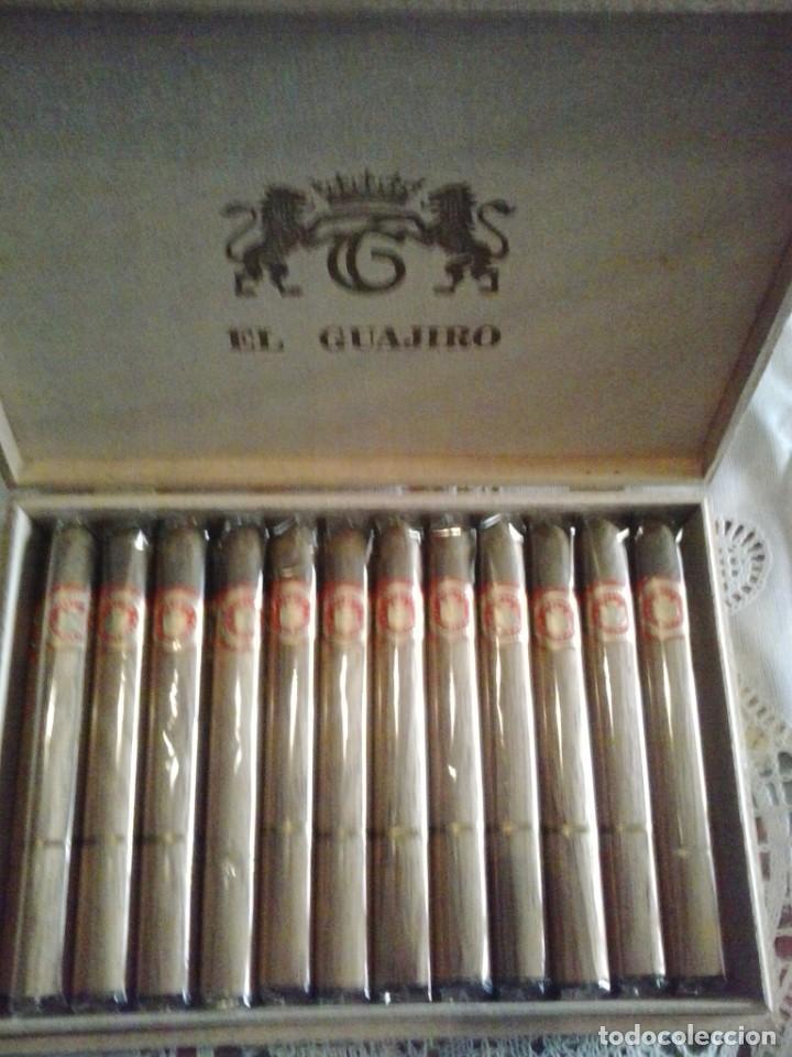 CAJA CON 30 PUROS-EL GUAJIRO (Coleccionismo - Objetos para Fumar - Cajas de Puros)