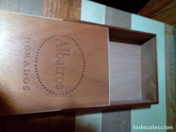 CAJA DE PUROS DE MADERA (Coleccionismo - Objetos para Fumar - Cajas de Puros)