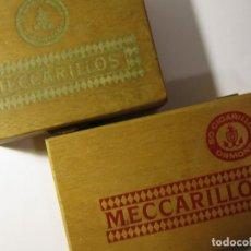 Cajas de Puros: LOTE 2 CAJAS DE PUROS 50 MECCARILLOS CHOISIS ORMOND. Lote 135377130