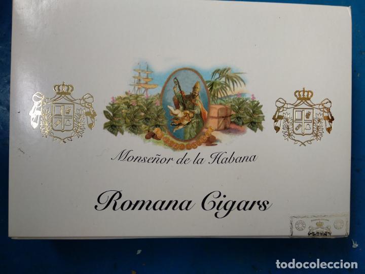 Cajas de Puros: Caja completa con 20 puros monseñor De La Habana romana cigars 20 especiales c - Foto 2 - 135566918