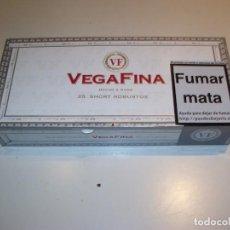 Cajas de Puros: 4 CAJAS DE PUROS VACIA VEGAFINA 25 SHORT ROBUSTOS NUEVA!!!! RESTO ESTANCO. Lote 135604738