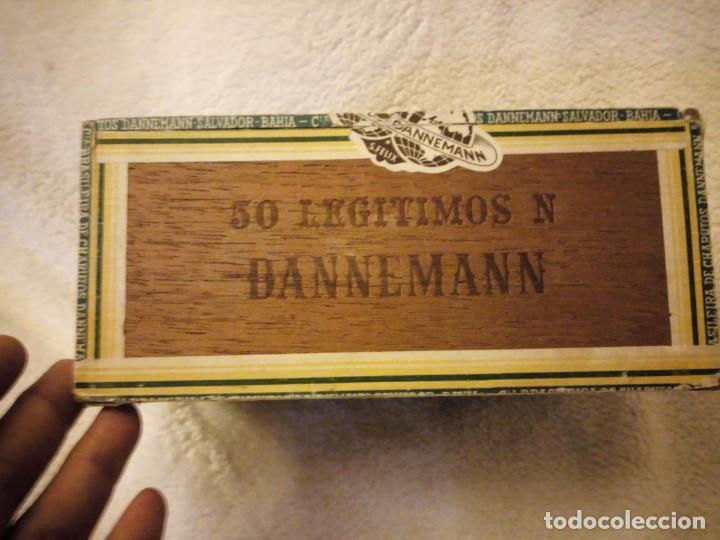 Cajas de Puros: Caja De Madera De puros Cigarros Dannemann Brasileira charutos S Felix Bahía.legitimos n. - Foto 3 - 135613578