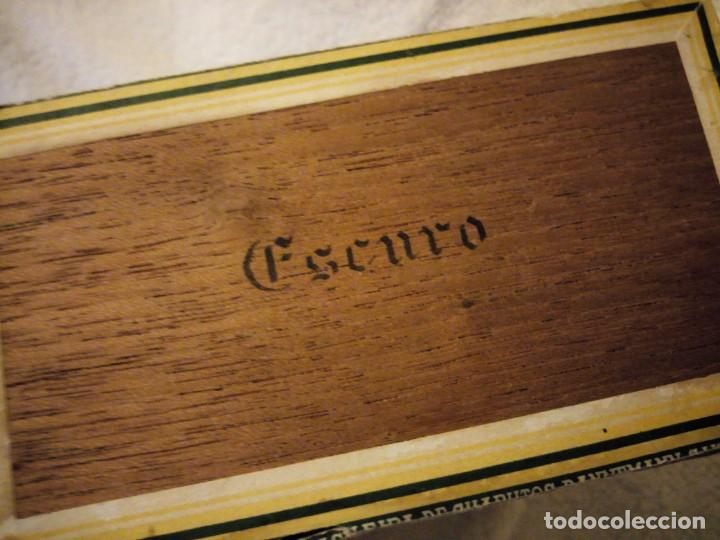 Cajas de Puros: Caja De Madera De puros Cigarros Dannemann Brasileira charutos S Felix Bahía.legitimos n. - Foto 5 - 135613578