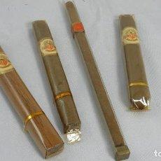 Cajas de Puros: LOTE DE 4 PUROS ALVARO, CEDROS, SALUDOS, DINO RANGER.. Lote 135838274