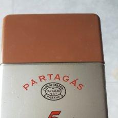 Cajas de Puros: CAJA DE PUROS PARTAGAS 5 CAPITOLS HAVANA CUBA. Lote 136377881