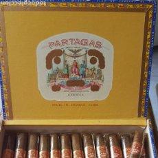 Cajas de Puros: CAJA DE PUROS PARTAGAS HABANEROS HABANA CUBA. Lote 136381097