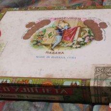 Cajas de Puros: CAJA DE PUROS ROMEO Y JULIETA PRECINTADA. Lote 136687914