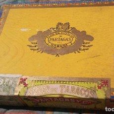 Cajas de Puros: CAJA DE PUROS PARTAGAS PRECINTADA COMPLETA. Lote 136689070