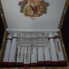 Cajas de Puros: CAJA DE ROMEO Y JULIETA EN 25 PUROS EN TUBO. Lote 136984386