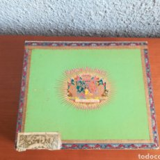 Cajas de Puros: CAJA VACÍA DE PUROS RAMÓN ALLONES PRIVATE STOCK CON BANDA - HABANA CUBA. Lote 178673152