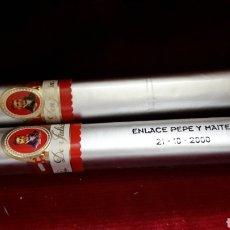 Cajas de Puros: DOS PUROS DON JULIAN AÑOS 1995 Y 2000.. Lote 137601001