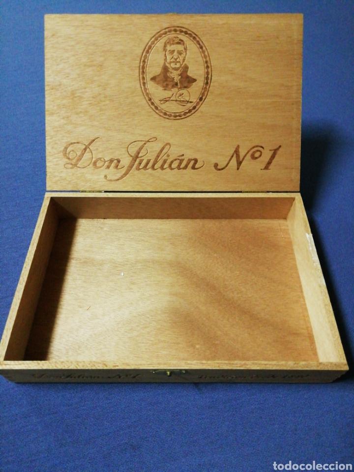 Cajas de Puros: Caja de puros Don Julián N°1 - Foto 3 - 137725913