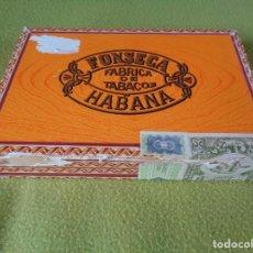 Cajas de Puros: LOTE DE 8 PUROS CUBA EN CAJA FONSECA - 2 FONSECA - 4 MONTECRISTO - 1 FLOR DE CANO - 1 NAC. QUINTERO. Lote 137741602